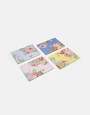 Joules Home_Garden Kitchen Placemats   Set Of 4 Cork Backed in  in One Size