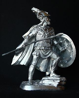 Leonidas I. King of Sparta KIT Tin toy soldier 54 mm. metal
