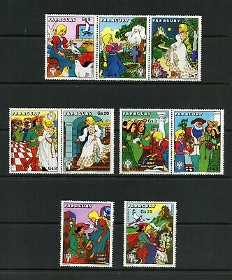 T641  Paraguay  1978  Year of the Child  IYC   9v.   MNH