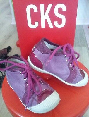 CKS - chaussures fille - TBE - pointure 22
