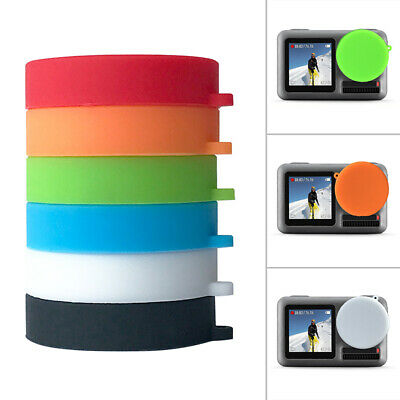 For DJI OSMO ACTION Sport Camera Silicone Protect Lens Covers Cap Parts 2019