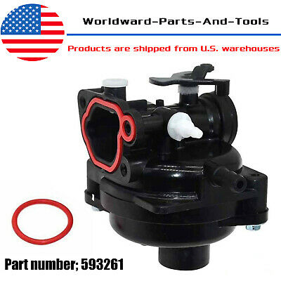 New Carburetor Carb for Briggs & Stratton 4-Cycle Outdoor Power Equipment 593261