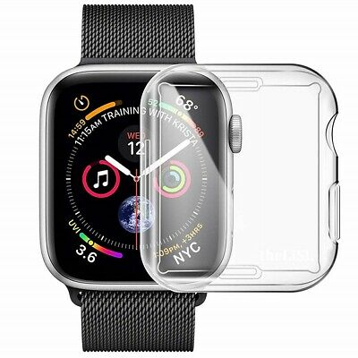 Generic All-around TPU Case For Apple Watch Series 4 44mm - Transparent