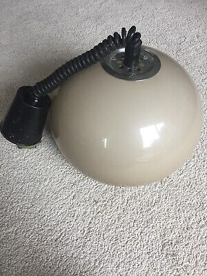 Mid Century Ceiling Pendant Light Rolly Rise & Fall Space Age 1960s 1970s Italy