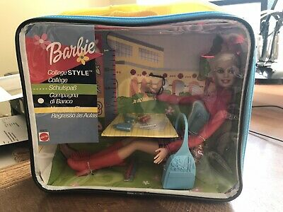 Barbie Doll College Style
