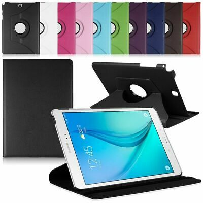 """Samsung Galaxy Tab A A6 10.1"""" SM-T580 T585 360 Rotating Rugged Stand Smart Case"""
