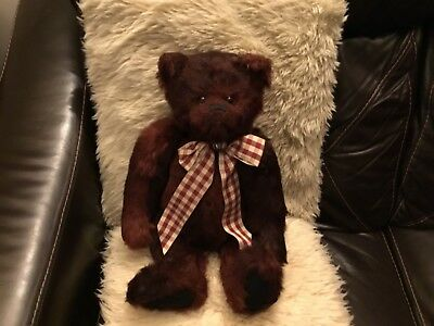 Charlie Bear 2012 🦋Remarkable RUFUS 🦋Needs A New Home And Awesome Bear HUGS!