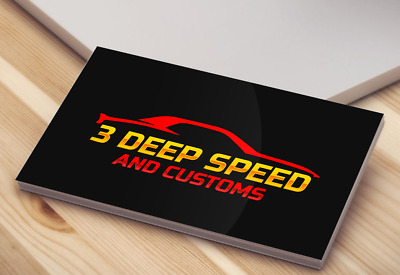 Professional PRINT READY Business Card design within in 24hr DOUBLE SIDE