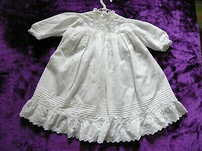 Baby Christening gown - Vintage- hand sewn
