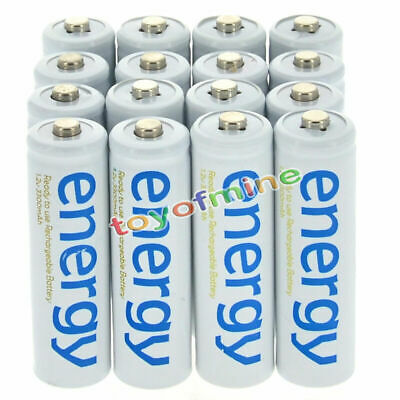 2-32X AA Rechargeable Battery Batteries Energy 3300mAh Ni-MH For RC Toys
