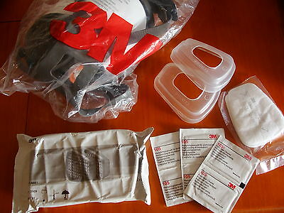 3M 6800  M   full face Mask plus FILTER PACK