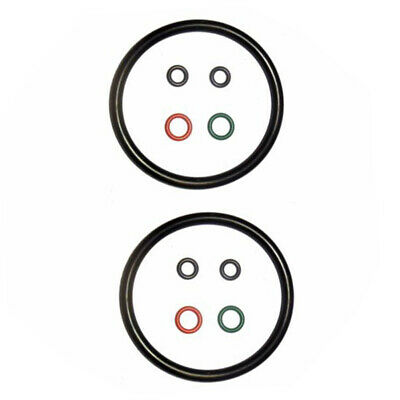 O-rings Beer Soda 2 Sets Replacement Kit Seal For Ball Lock Kegs Black Accessory