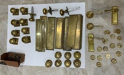 Job Lot - Brass Door Knobs and handles