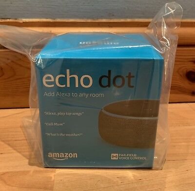 **Amazon Echo Dot (3rd Generation) - Smart Speaker with Alexa - *Charcoal -New*