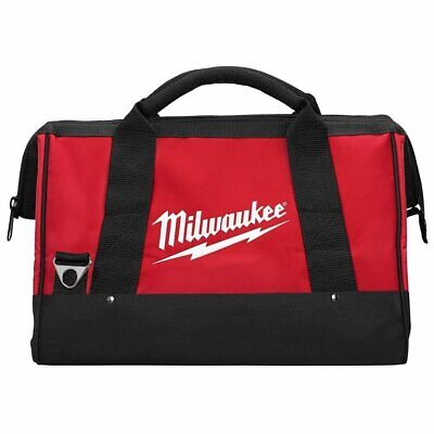 """NEW MILWAUKEE 17"""" X 11"""" X 10"""" Large Tool Bag Tote Case With 6 Interior Pockets"""