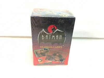 1993 Batman the Animated Series Unopened Factory Sealed Trading Card Box
