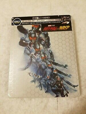 Ant Man and the Wasp STEELBOOK 4K UHD Blu Ray US Best Buy SOLD OUT SEALED