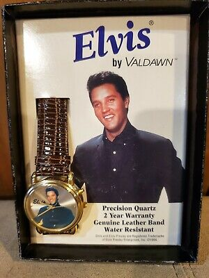 1994 Elvis Collectable Musical Watch in Original Box by Valdawn Never Used z1