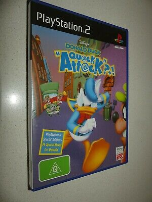 PS2 Disney's Donald Duck Quack Attack complete with booklet *Mint condition*