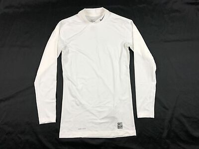 NEW Nike - White Compression  Long Sleeve Shirt (Multiple Sizes)