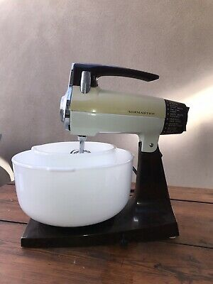 Vintage Sunbeam Mixmaster With Juicer Attachment Works Well 1960's