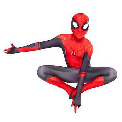 Adult Boys Spider-Man Far From Home Spiderman Zentai Child Cosplay Costume Suit
