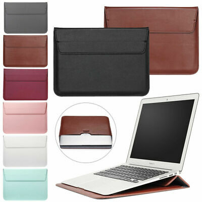 Leather Case For MacBook Air 11 13 Pro 13 15 Retina Slim Laptop Sleeve Bag Cover