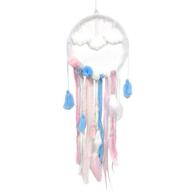 Handmade Cloud Dream Catcher Feather Wall Hanging Car Decor Great Gifts 55cm