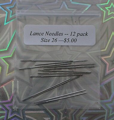 Lance Tapestry Needles, Size 26 - 12 pack