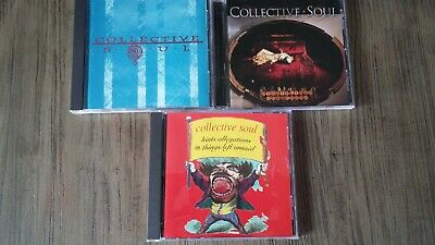 COLLECTIVE SOUL 3 CD LOT: Disciplined Breakdown, Self-Titled, Hints Allegations