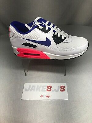 NIKE AIR MAX 90 Essential 537384 607 Game RedElement Gold