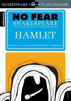 Hamlet (No Fear Shakespeare) by SparkNotes 9781586638443   Brand New