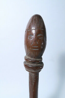 Ibo Igbo Ritual Stab Excellente Patina Stick 35cm Afrozip