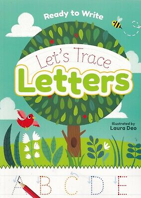 Learn To Write Let's Trace Letters A4 Pb Book Age 3+ Lower Case & Capitals