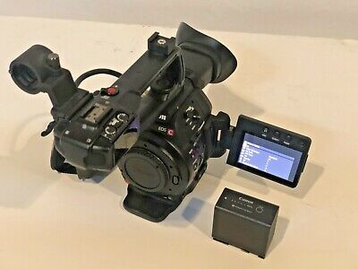 CANON EOS C100 Mark II Cinema EOS Camera with Dual Pixel