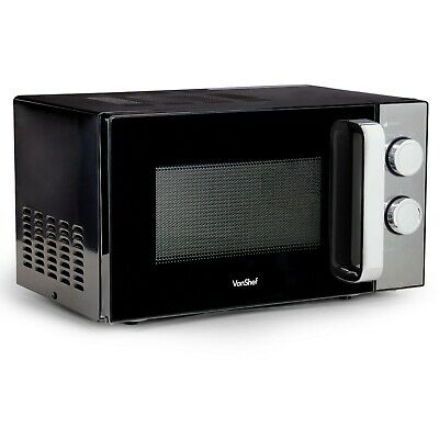 Microwaves VonShef Microwave Oven Manual 6 Power Settings 30 Min ...