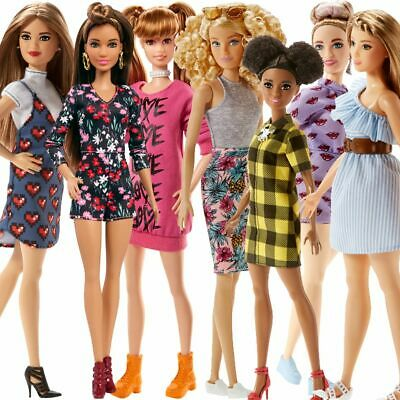 Barbie Doll Dolls Toy Toys Girl Girls Fashionistas Assortment Dress Dresses