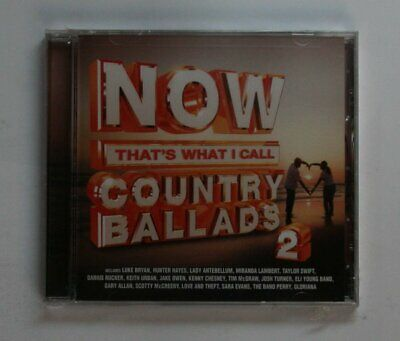 Now That's What I Call Country Ballads 2 US CD 2010 Keith Urban Taylor Swift