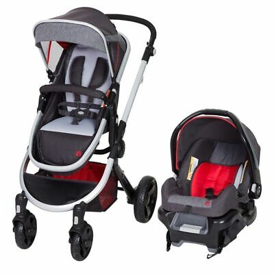Baby Trend ESPY 35 Travel System Firefly Infant Car Seat Carrier & Stroller Red