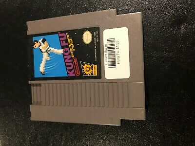 Kung Fu Nes Nintendo Video Game Tested & Working