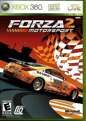 Forza Motorsport 2 for Microsoft Xbox 360 w/ Case & Manual - USED
