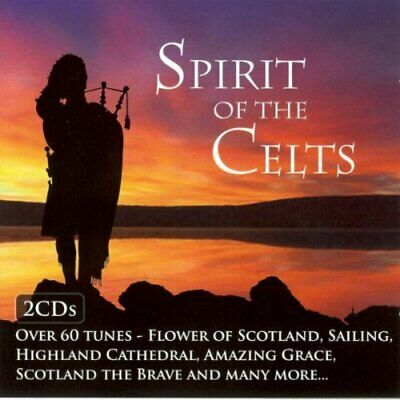 Various Artists - Spirit of the Celts - Various Artists CD FKLN The Cheap Fast