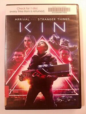 Kin, 2018, PG-13, Action Crime Drama, DVD Movie, Like New