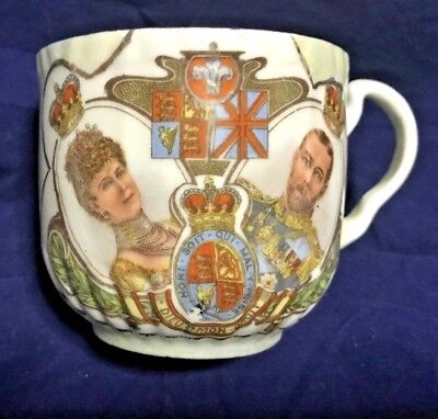 Rare, Antique King George V & Queen Mary, Cup