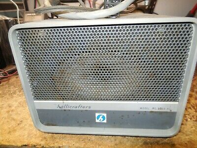 Hallicrafters PS-500A PS500A Power Supply and Speaker Ham for SR-400 *Works*