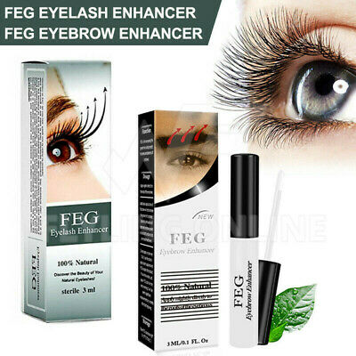Genuine FEG Natural Eyebrow Eyelash Enhancer Serum eyelash growth booster lash