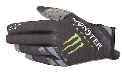 2020 Alpinestars Radar Monster Energy Ammo Motocross Enduro Glove Black/Green