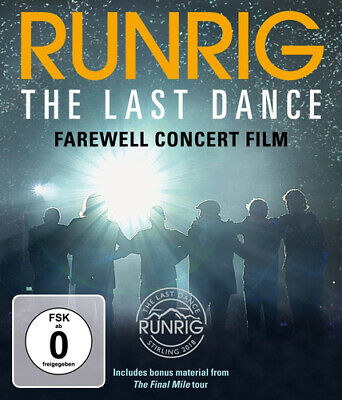 Runrig: The Last Dance - Farewell Concert Film Blu-ray (2019) Runrig cert 12