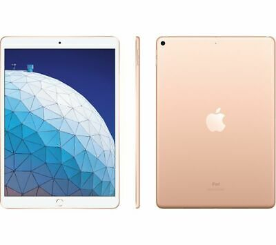 "Apple iPad Air 3 10.5"" 64GB 2019 WiFi A2152 Gold Retina Fast Tablet MUUL2B/A"