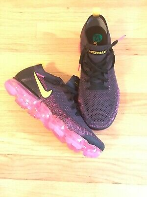 Nike Air Vapormax Flyknit 2 Gridiron/Laser Orange 942842-008 Men's Size 12